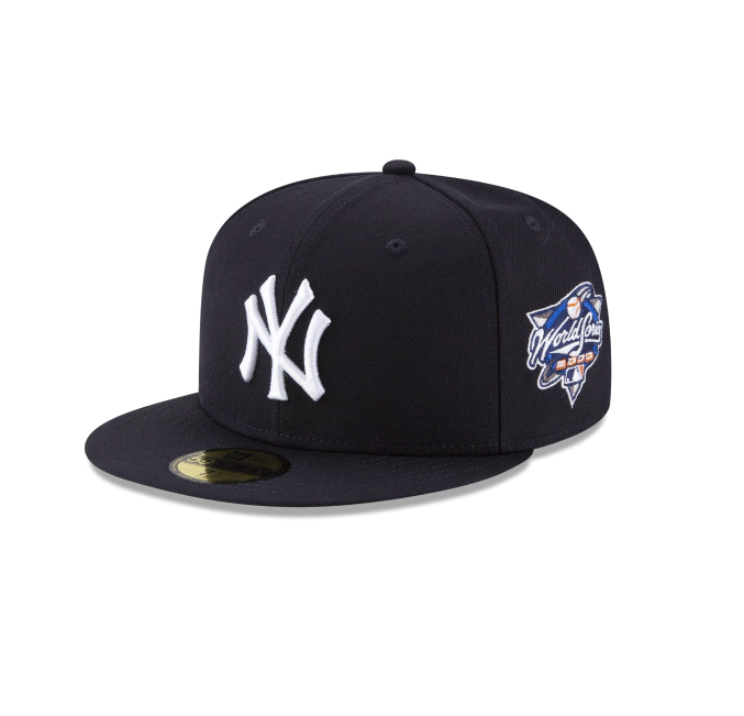 "New Era ""New York Yankees"" 2000 World Series Grey Bottom 59Fifty Fitted Hat"