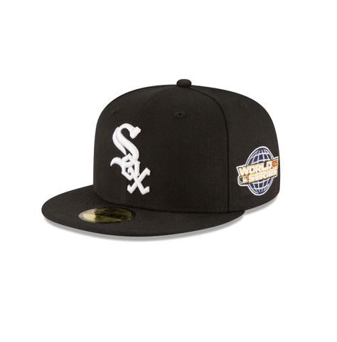 "New Era ""Chicago White Sox"" 2005 World Series Grey Bottom 59Fifty Fitted Hat"