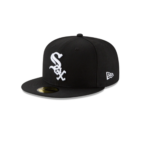 New Era Chicago White Sox Grey Bottom 59Fifty Fitted Cap