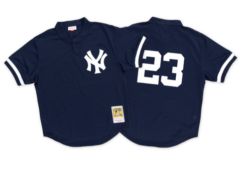 Mitchell & Ness Don Mattingly 1995 Authentic Mesh BP Jersey New York Yankees
