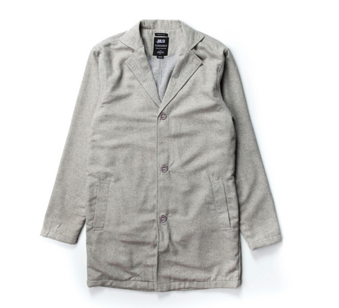 Publish Gianni Woven Jacket In Grey