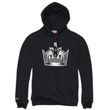 Mitchell & Ness Team History Hoody Los Angeles Kings In Black