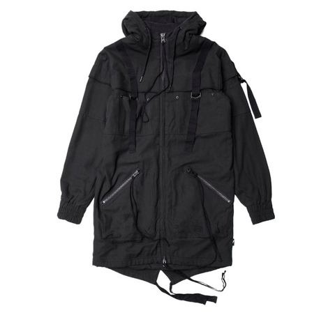 Publish Radik Woven Jacket In Black