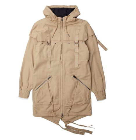Publish Radik Woven Jacket In Khaki