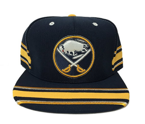 Mitchell & Ness Buffalo Sabres Snapback In Navy