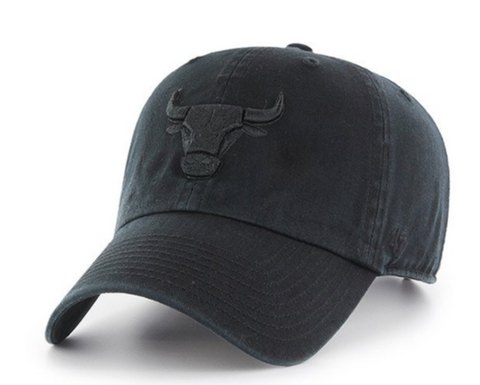 Forty Seven Brand Chicago Bulls Clean Up Hat In Black