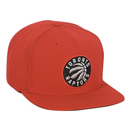 Toronto Raptors Mitchell & Ness NBA Current Wool Solid 2 Snapback Cap Red