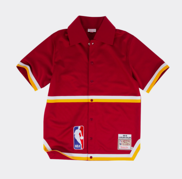 Cleveland Cavaliers Mitchell & Ness NBA 1981-82 Authentic Shooting Shirt