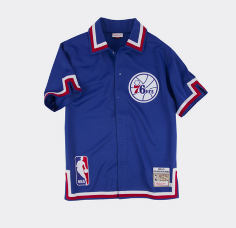 Philadelphia 76ers Mitchell & Ness NBA 1982-83 Authentic Shooting Shirt