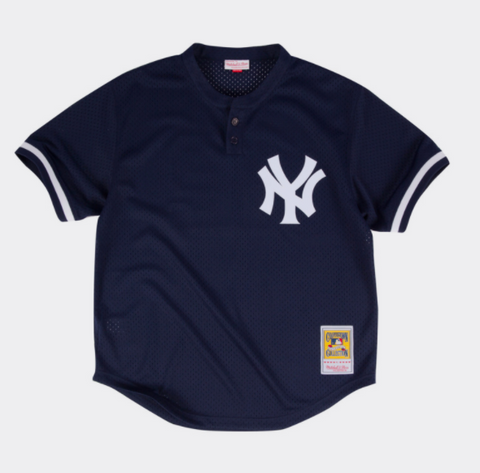 Mariano Rivera Navy New York Yankees Authentic Mesh Batting Practice Jersey
