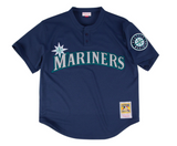 Ken Griffey Jr. Blue Seattle Mariners Authentic Mesh Batting Practice Jersey