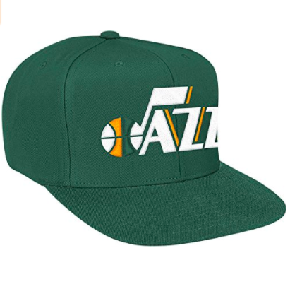 Mitchell & Ness Utah Jazz New Snapback Solid Green