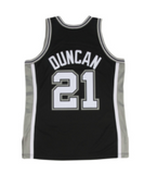Tim Duncan San Antonio Spurs Mitchell & Ness Authentic 2002-03 Black NBA Jersey