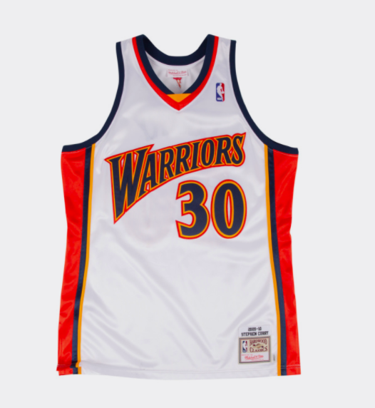 sports shoes bf902 48a06 Stephen Curry Golden State Warriors NBA Mitchell & Ness 2009 Authentic  Jersey White