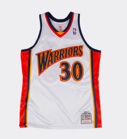 Stephen Curry Golden State Warriors NBA Mitchell & Ness 2009 Authentic Jersey White