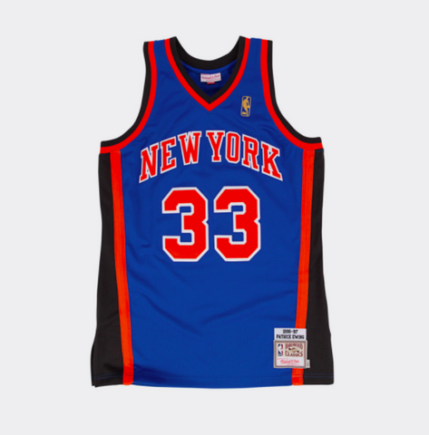 NBA Mitchell & Ness Patrick Ewing New York Knicks 1996-1997 Throwback Authentic Jersey