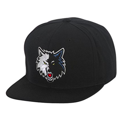 Mitchell & Ness Minnesota Timberwolves Wool Snapback Black