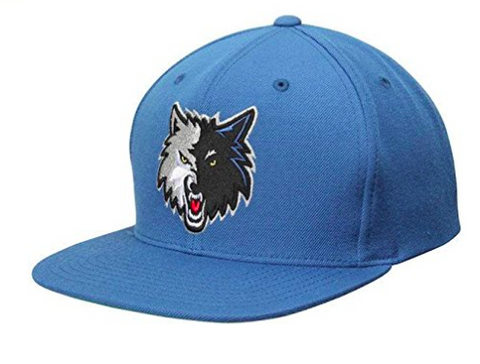 Mitchell & Ness Minnesota Timberwolves Wool Snapback Blue