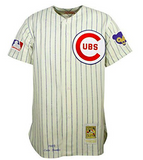 Mitchell & Ness Ernie Banks Cubs 1969 Home Authentic Jersey