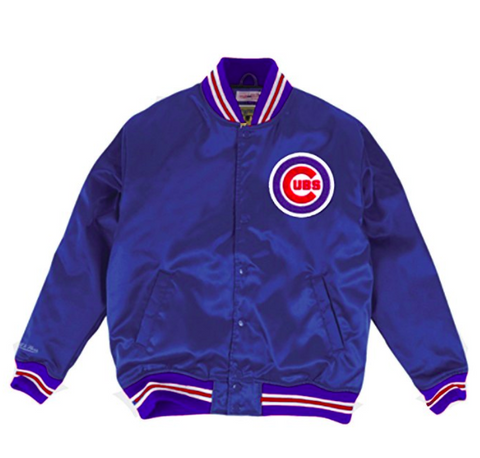 Mitchell & Ness Chicago Cubs Satin Jacket