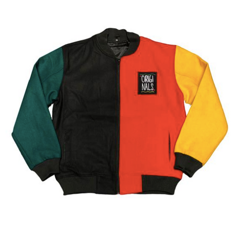 "The Originals ""Motherland"" Wool Varsity Jacket"