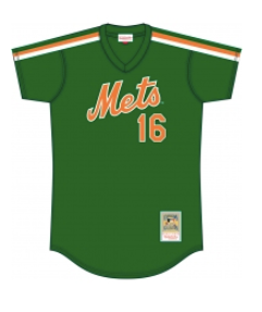 7c7cd2975b9 Mitchell   Ness NY Mets Dwight Gooden Green Cooperstown Mesh Batting  Practice Jersey