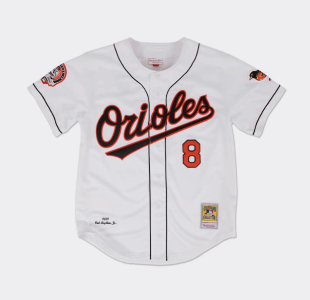 Mitchell & Ness Cal Ripken 2001 Authentic Jersey Baltimore Orioles