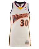 Golden State Warriors Stephen Curry 2009-10 Mitchell & Ness NBA Swingman Jersey White