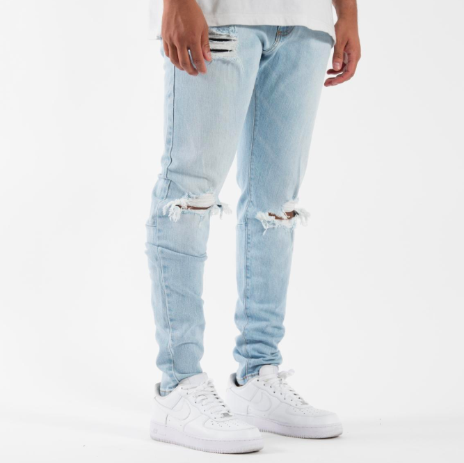 Syndicate Tailored 1980 Denim Jeans in Light Blue