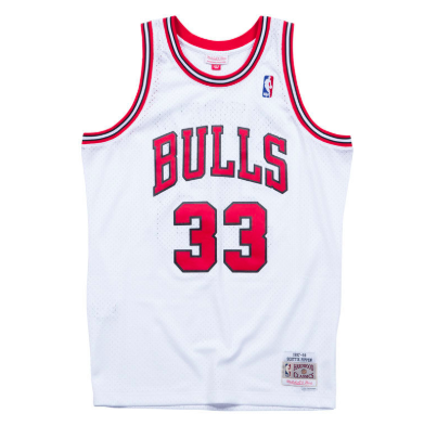Chicago Bulls Scottie Pippen Mitchell & Ness NBA Men's Hardwood Classic Swingman Jersey