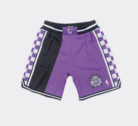 Mitchell & Ness 1994-95 Sacramento Kings Alternate Authentic Shorts