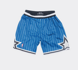 Mitchell & Ness 1994-95 Orlando Magic Alternate Authentic Shorts in Blue