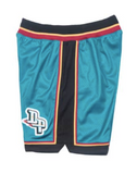 Mitchell & Ness 1998-99 Detroit Pistons Road Authentic Shorts