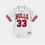 Mitchell Ness Scottie Pippen Name & Number Mesh Crewneck Chicago Bulls