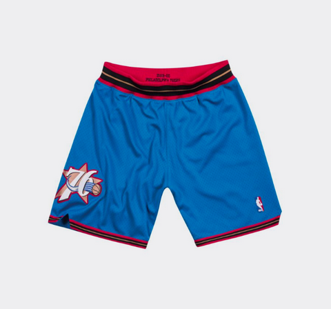 Mitchell & Ness 1999-00 Philadelphia 76ers Alternate Authentic Shorts
