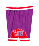 Mitchell & Ness 1991-92 Phoenix Suns Road Authentic Shorts in Purple