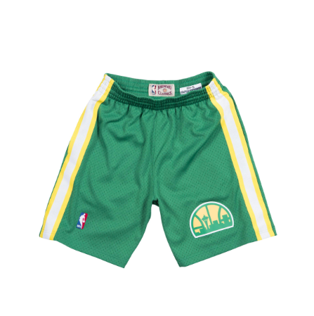 Mitchell & Ness 1994-95 Road Swingman Shorts Seattle Supersonics