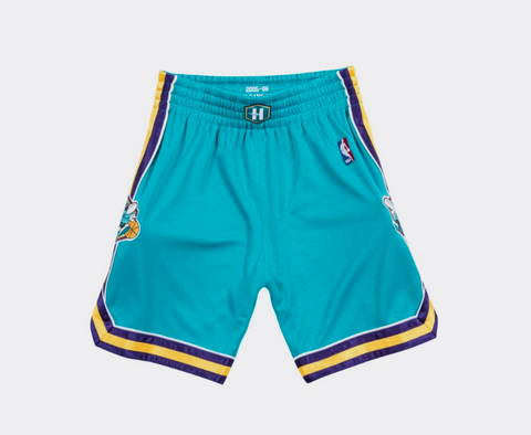 Mitchell & Ness 2005-06 New Orleans Hornets Road Authentic Shorts