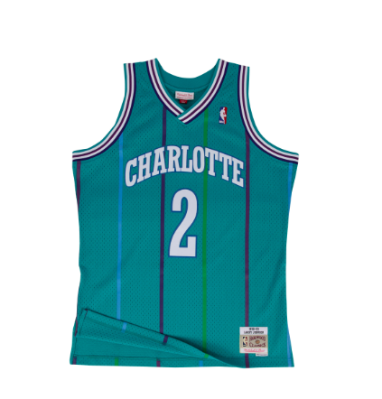 Mitchell & Ness Larry Johnson 1992-93 Swingman Jersey Charlotte Hornets