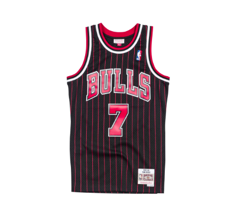 Mitchell & Ness Toni Kukoc 1995-96 Alternate Swingman Jersey Chicago Bulls