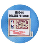 Drazen Petrovic 1990-91 Authentic Jersey New Jersey Nets