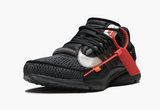 Men's Nike Air Presto Off-White in Black