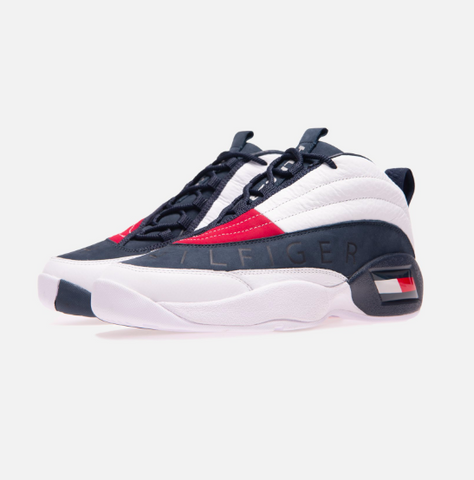 742f9b132 KITH X TOMMY HILFIGER Lux Basketball Sneaker -White
