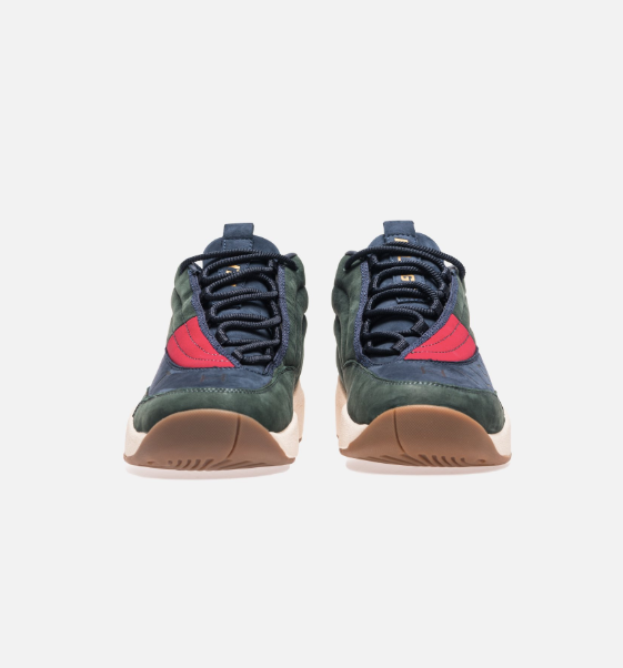 27be5d9de KITH X TOMMY HILFIGER Lux Basketball Sneaker - Forest Navy