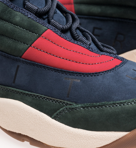 402edace KITH X TOMMY HILFIGER Lux Basketball Sneaker - Forest/Navy