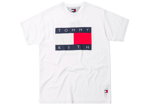 1556ddeac3 Kith x Tommy Hilfiger Flag Tee - White