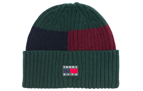 Kith x Tommy Hilfiger Flag Beanie - Forest