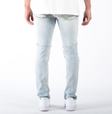 "The Reform ""1885"" Slim Denim Jeans in Light Blue"