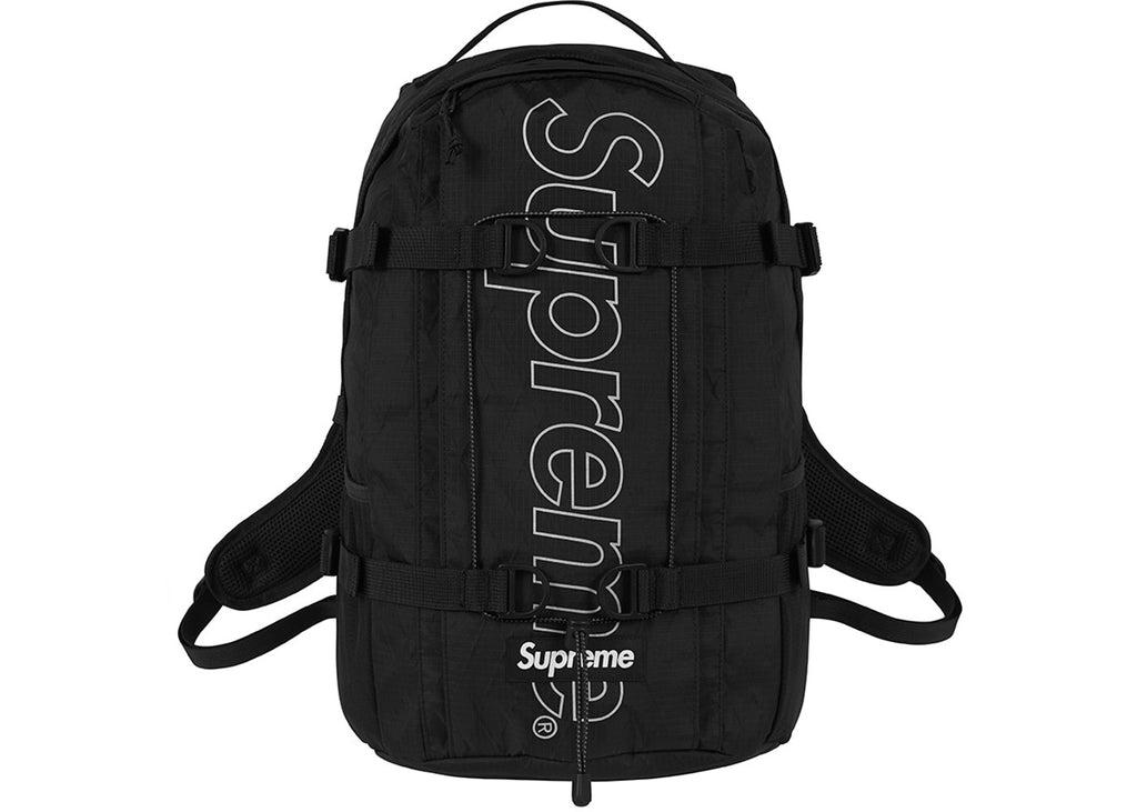 differently 066f0 e9d2b Supreme Backpack - Black FW18
