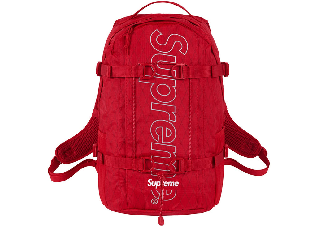 Supreme Backpack - Red FW18